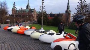 Velomobiler og Liggecykel ved Frederiksborg Slot