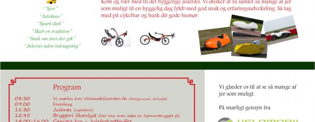 Juleræs hos Velomobilcenter.dk