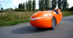 Søren giver den gas i Velostrada ved 200m sprint